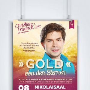Friedrich in Concert – Plakat Musical