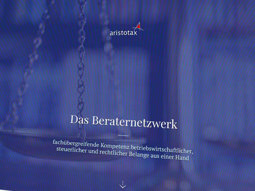 Webdesign aristotax