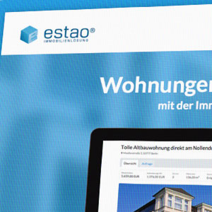 Webdesign estao® Immobilienlösung