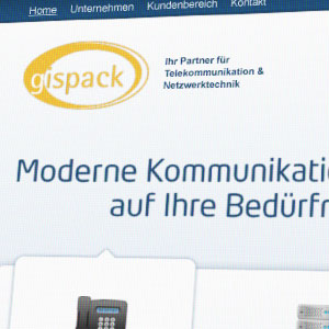 Webdesign GISPACK